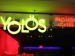 Yolos Neon Entrance Sign