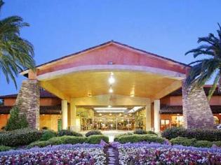 Alexis Park Hotel Entrance