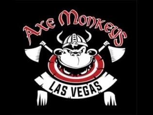 Axe Monkeys Las Vegas axe throwing range
