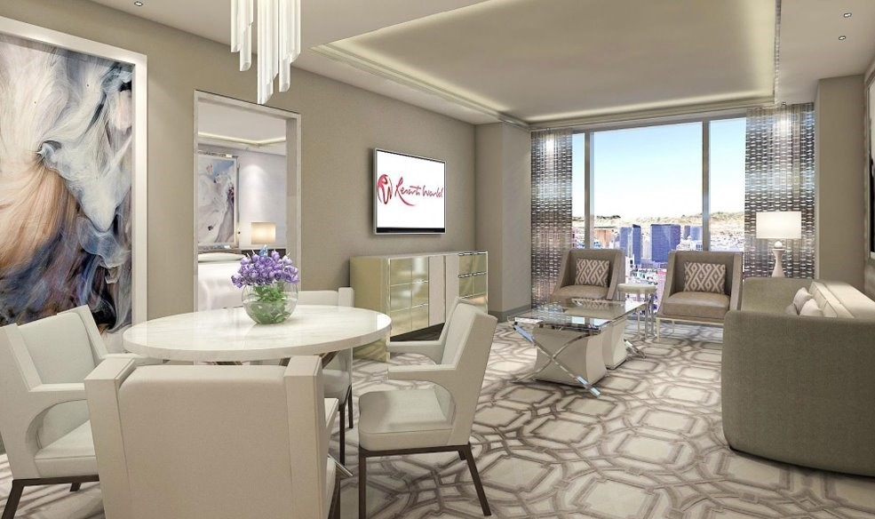 Crockfords Las Vegas - One Bedroom Suite Rendering 1