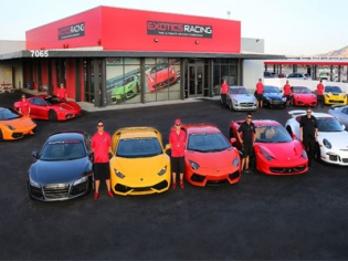 Exotics Racing Experience at the Las Vegas Motor Speedway