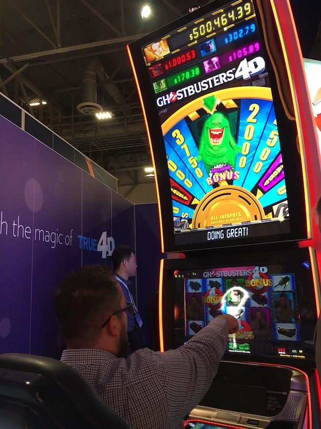 GhostBusters 4D Slot Machine