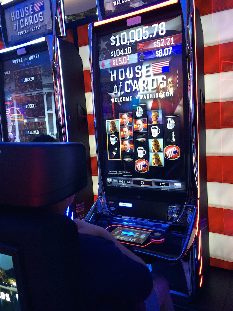 House of Cards slot machine