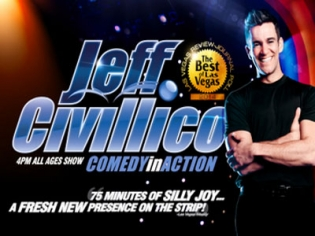 Jeff Civillico Comedy in Action at The Flamingo