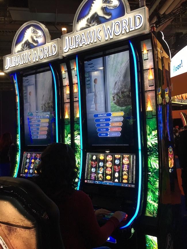 Jurassic World Slot Machine