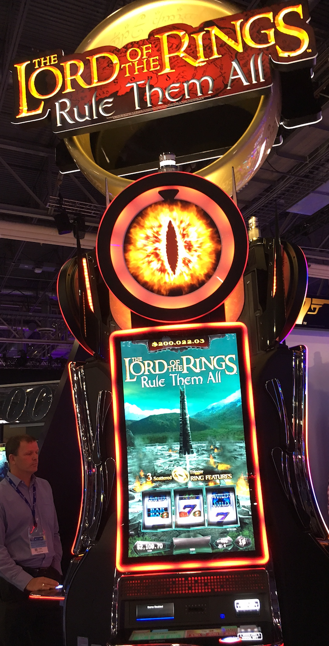 Lord of the Rings V2 Slot Machine