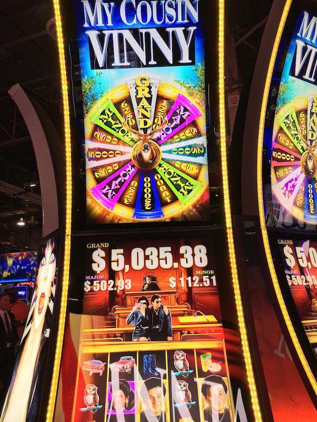 My Cousin Vinny Slot Machine Las Vegas