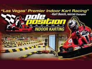 Pole Position Raceway Las Vegas Indoor Electric Go Karts