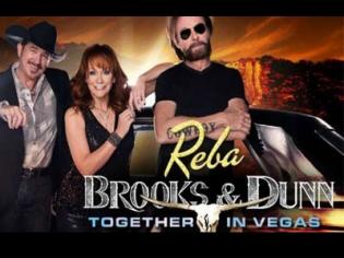 Reba, Brooks and Dunn at the Colosseum Las Vegas