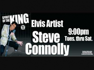 Steve Connolly: Spirit of the King at the Four Queens Downtown Las Vegas
