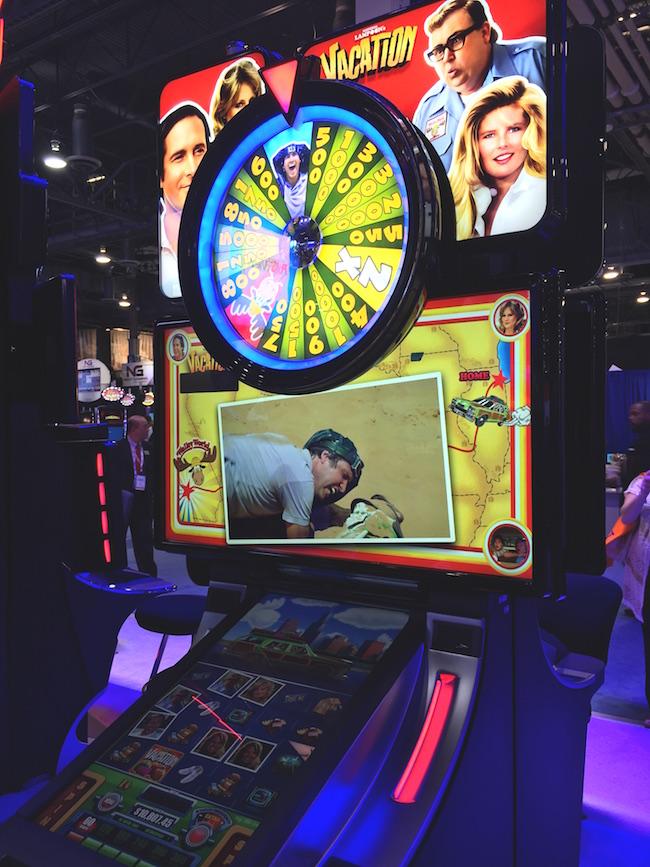 Lampoons Vacation Slot Machine