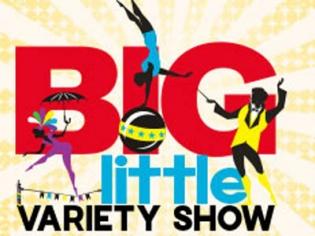 Big Little Variety Show Logo Vegas