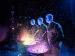 Blue Man Group Colored Drums Vegas
