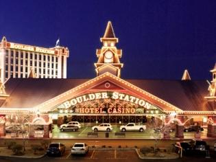 Boulder Station Entrance and Hotel