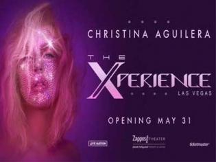 Christina Aguilera – The Xperience at Planet Hollywood Las Vegas