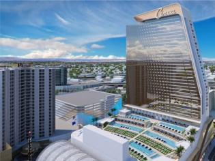 Circa Las Vegas Pool Deck View