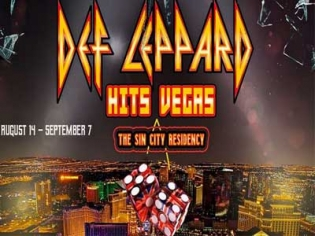 Def Leppard the Sin City Residency at Planet Hollywood
