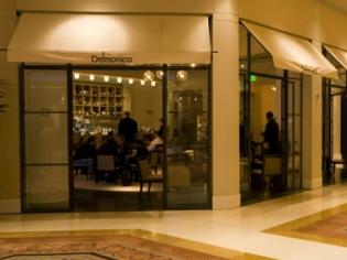 Delmonico Steakhouse Entrance