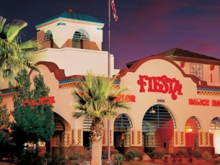 Front Lobby Night View of Fiesta Rancho