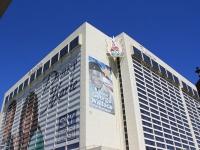 Corner View of Flamingo Hotel