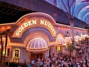 Freemont Street View of Golden Nugget