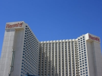 Front View of Harrah's Hotel