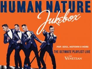 Human Nature Jukebox at the Sands Showroom Venetain