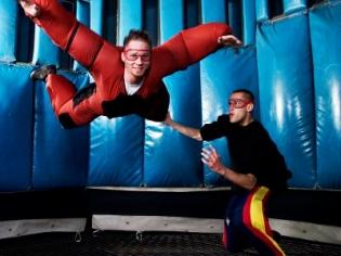 Indoor Skydiving in Action