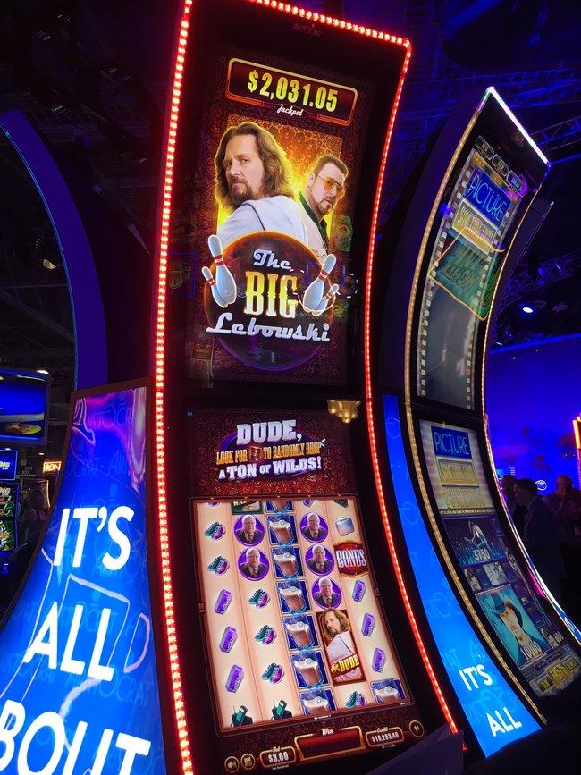 The Big Lebowski Slot Machine