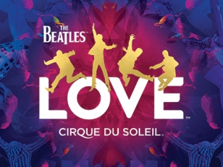Beatles Love Logo at Mirage