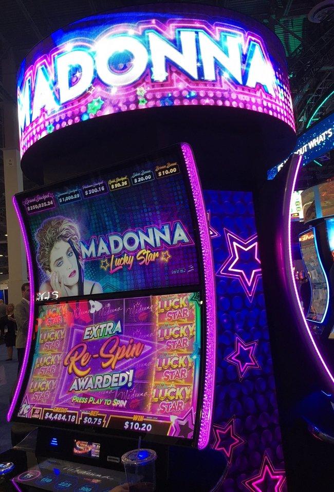 Madonna Final Slot Machine