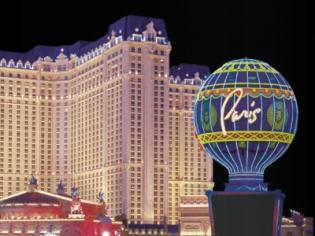 Paris Balloon and Venetian Hotel