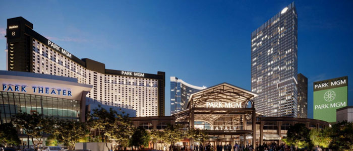Exterior Rendering of Park MGM