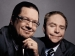 Penn and Teller Posing Together