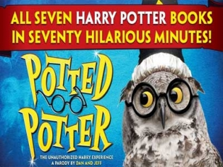 Potted Potter parody show at the Magic Attic in Bally's Las Vegas