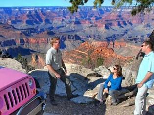 Grand Canyon South Rim Pink Jeep Tour