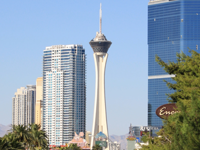 Stratosphere View from the Strip
