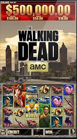 The Walking Dead slot machine AMC