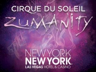 Zumanity Show Logo NYNY Vegas